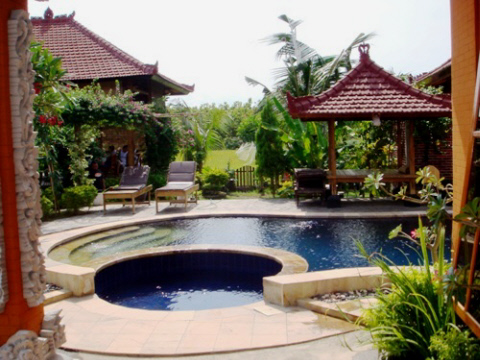 The property in Bali