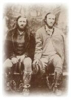 The Clarke brothers after their capture